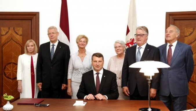 Президент Латвии: в Рижский замок возвращается жизнь