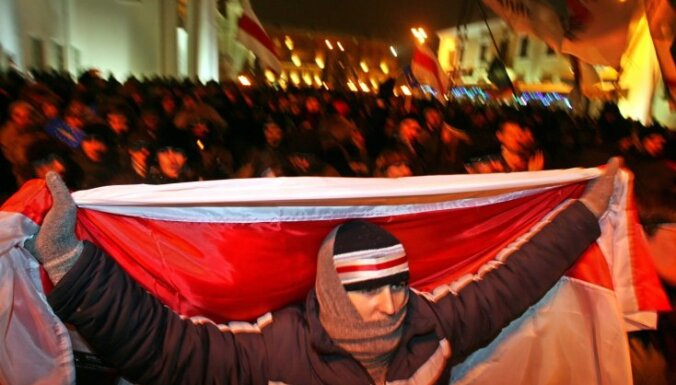 Baltkrievijā apcietinājumā patur piecus prezidenta amata kandidātus