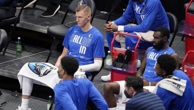 Porziņģis slavē 'Clippers' uzbrukumu un ir pārliecināts, ka 'Mavericks' turpmāk var spēlēt labāk