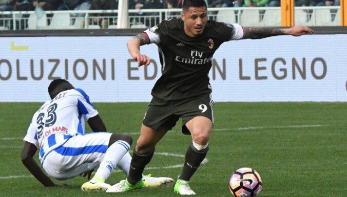 Milan Gianluca Lapadula, Pescara Mamadou Coulibaly