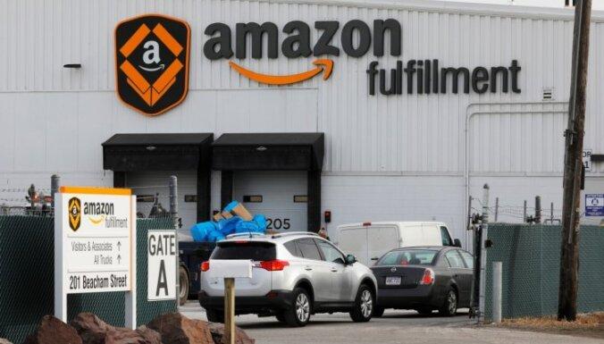 'Amazon' palielina atalgojumu un pieņem 100 000 darbinieku, 'Covid-19' krīzei palielinot pieprasījumu