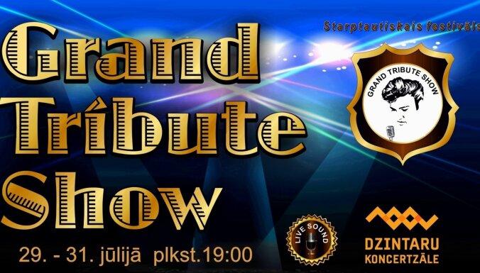 "Dzintaros notiks festivāls ""Grand Tribute Show"""