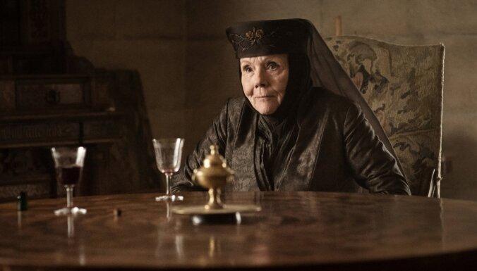 Mūžībā devusies 'Game of Thrones' aktrise Daiena Riga