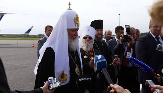 Патриарх Кирилл: православная церковь — не иностранный агент