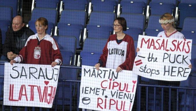 Cipuļa vārti ir ātrākie Latvijas izlasei pasaules čempionātu vēsturē