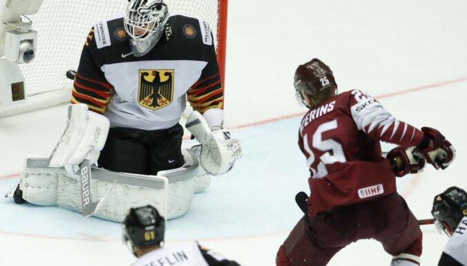 ВИДЕО: Голы Кениньша, Галвиньша и Джериньша приносят Латвии победу над немцами