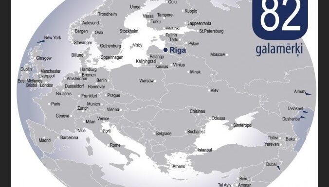 Vasaras sezonā būtiski palielināsies reisu skaits no lidostas 'Rīga'