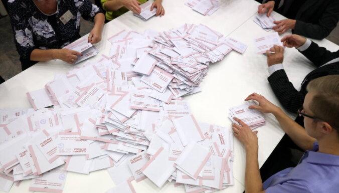 """Результаты голосования: впереди """"Согласие"""", KPV LV и """"новые консерваторы"""" (обновляется)"""