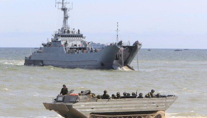 В Балтийском море во время учений BALTOPS-15 затонула польская амфибия