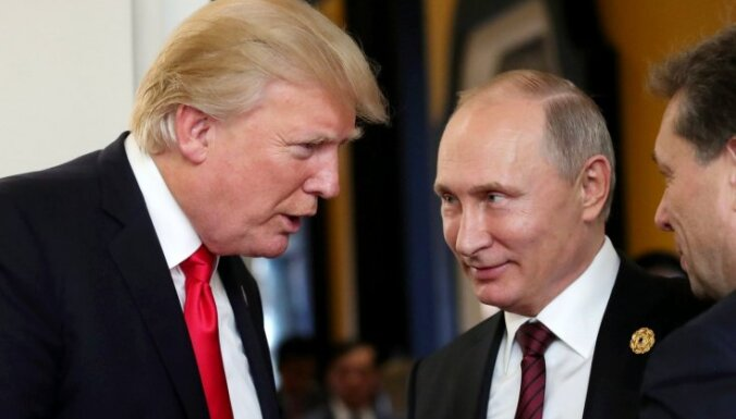 Путин поблагодарил Трампа за информацию о подготовке теракта в Петербурге