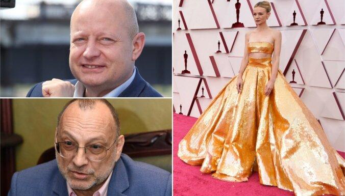 Nedēļas trakumi: Ķesterim jauns darbs, Inkēna laulība, kleitas 'Oskarā'