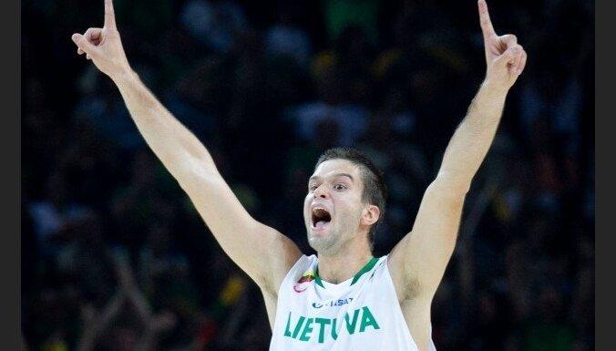 Lietuvas basketbolisti Kauņas halles atklāšanā uzvar Spāniju