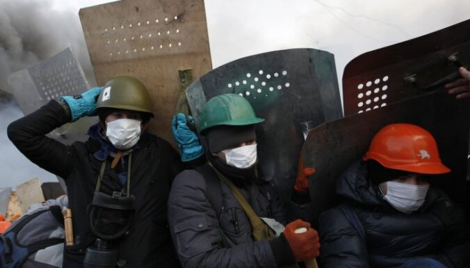 """Калниете отправилась на Майдан, там решается """"судьба Европы"""""""