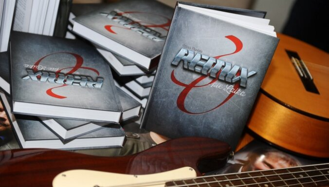Laista klajā grāmata par latviešu grupu 'Remix'