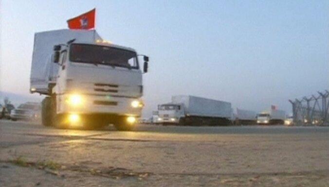 Россия изменила маршрут гуманитарного конвоя по требованию Украины