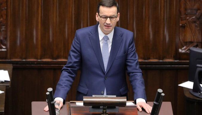 Польский премьер-министр обвинил Путина во лжи