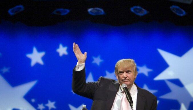 Nekustamo īpašumu magnāts Tramps nekandidēs uz ASV prezidenta amatu