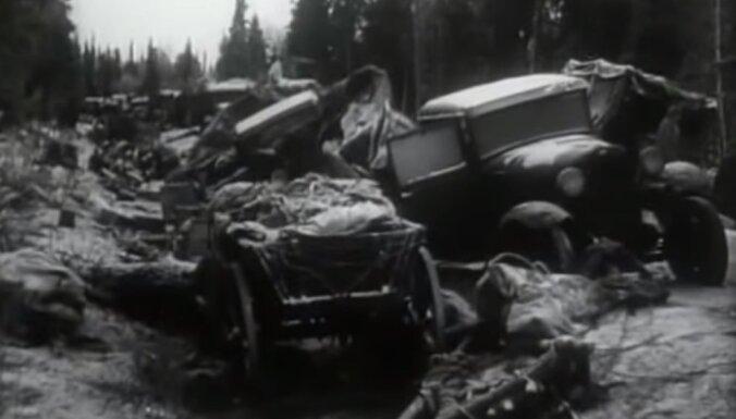 Suomusalmi kauja: pirms 75 gadiem somu karavīri pilnībā sagrāva divas PSRS divīzijas