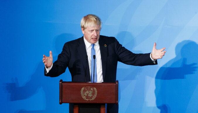 Džonsons: Ja tirdzniecības vienošanās ar ES netiks panākta līdz 15. oktobrim, sarunas turpināt nav jēgas