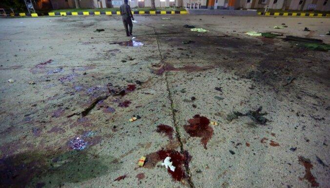 Uzlidojumā karaskolai Tripolē 28 nogalinātie