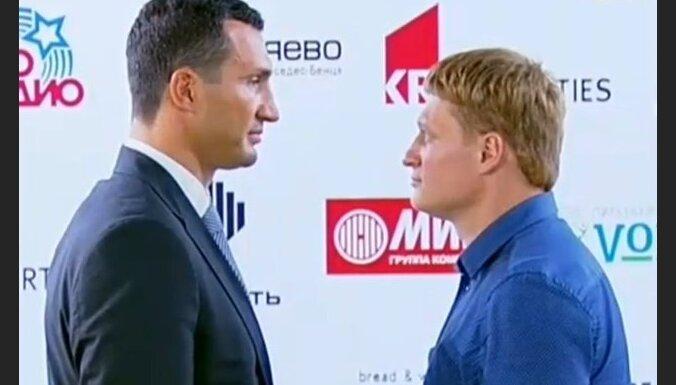 Vladimir Klichko_Alexandr Povetkin, boks