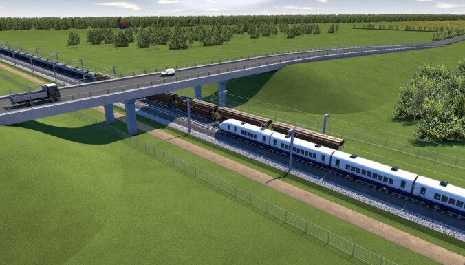 Tiesā apstrīdēts 'Rail Baltica' trases novietojums Latvijā