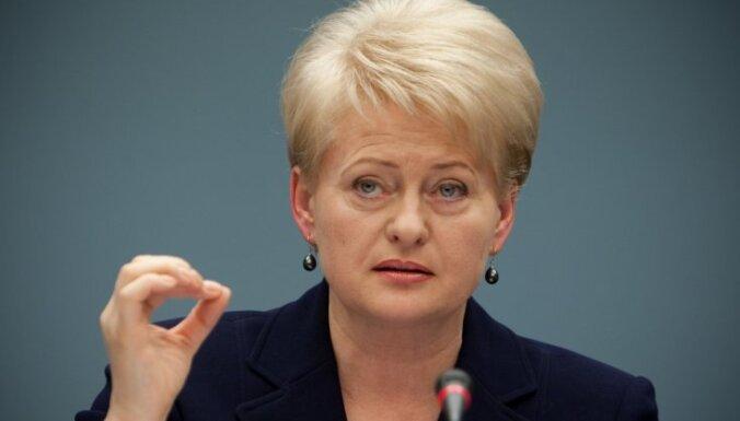 Grībauskaite: Lietuva negaida Austrijas atvainošanos, bet gan ierobežojumus noziedzniekiem