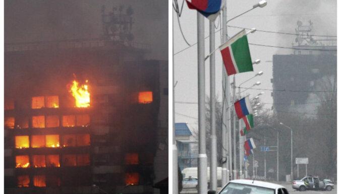 Теракт в Грозном: боевики убили полицейских, захвачен Дом печати