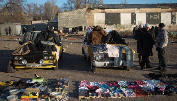 Donbasā pastiprinās vietējo iedzīvotāju protesti pret teroristu varasiestādēm