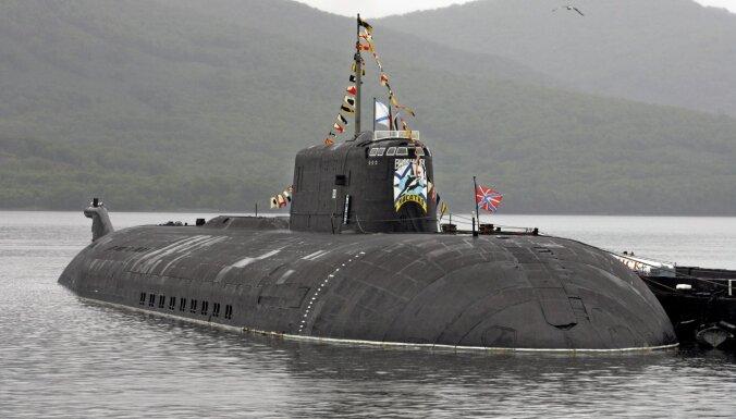 Baltijas jūrā iebraukusi Krievijas kodolzemūdene