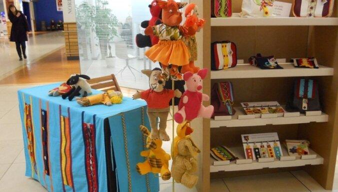 Ziemassvētku tirdziņā 'Domina Shopping' - vairāk nekā 80 vietējo tirgotāju