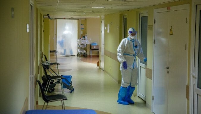 Svētdien Latvijā stacionēti 67 Covid-19 pacienti
