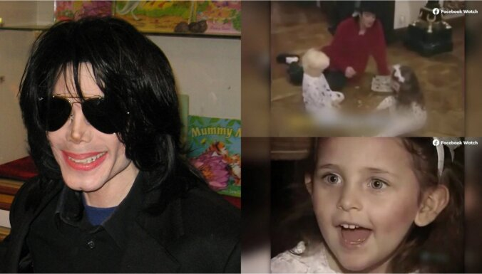 11 gadus pēc Džeksona nāves meita publisko līdz šim neredzētus kadrus ar tēvu