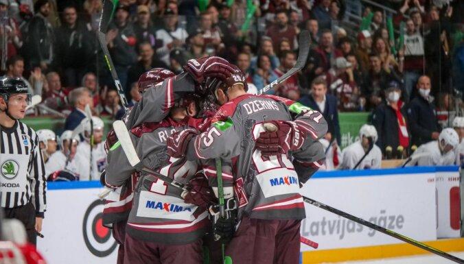Сборная Латвии по хоккею завоевала путевку на Олимпийские игры в Пекин