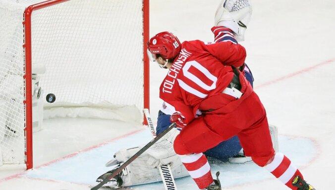 KOK hokejisti viegli tiek galā ar Lielbritāniju