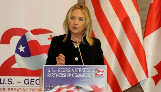 Хиллари Клинтон: Россия может устроить войну с Грузией