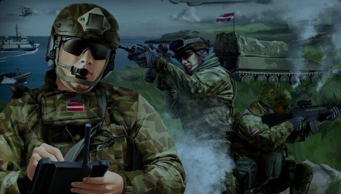 Rekrutēšanas centrs: Darbs tev saliedētā valsts aizsardzības komandā – kļūsti karavīrs