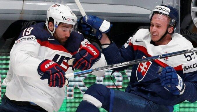 Словаки обыграли сборную США, но в плей-офф все равно не попали