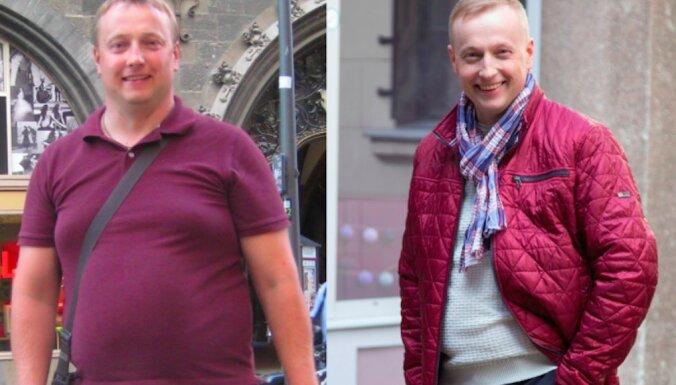 Foto: Atis atklāti pastāsta, kā viņam izdevās nomest 21 kg