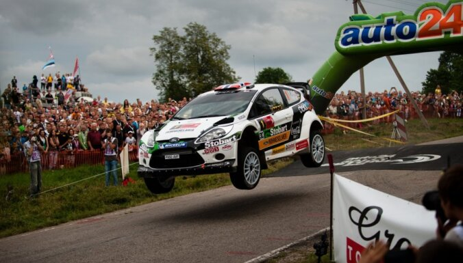 Gandrīz divi simti dalībnieku 'auto24 Rally Estonia'