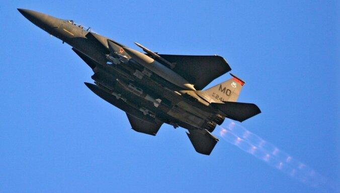 Истребители США переняли охрану неба стран Балтии