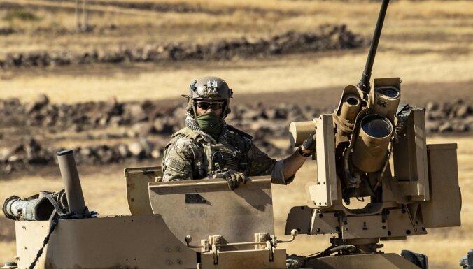 ASV Sīrijā paturēs aptuveni 600 karavīru