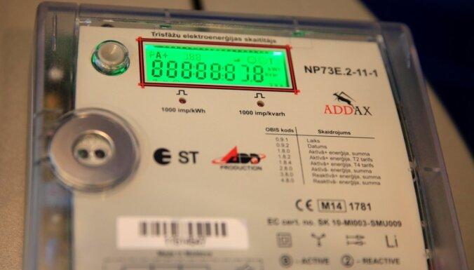'Sadales tīkls' līdz 2023. gadam plāno ieviest viedos elektrības skaitītājus 98% no visiem pieslēgumiem