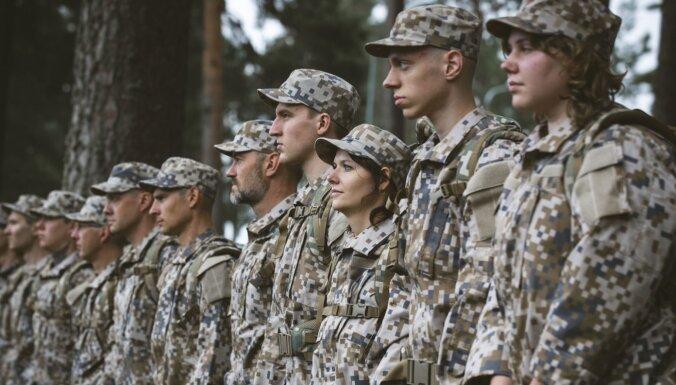 Aicina pieteikties rezervistu militārās apmācības kursam