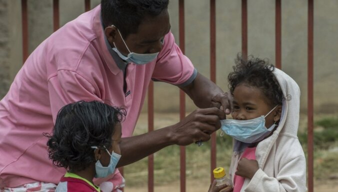 Mēra uzliesmojumā Madagaskarā 42 mirušie