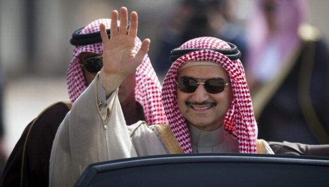 Princis Al Valīds bin Talals pēc izkļūšanas no cietuma kļuvis par miljardu bagātāks