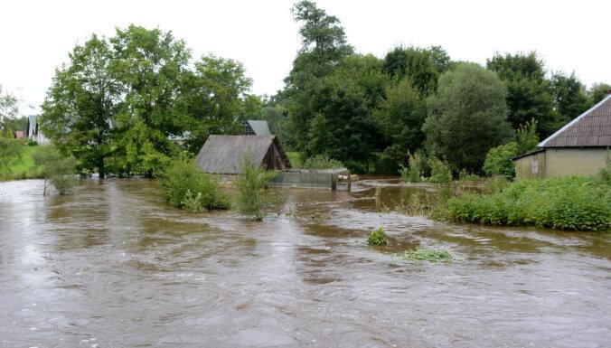 Pirmajās dienās saņemti 65 pieteikumi platību apsekošanai no plūdos cietušajiem lauksaimniekiem