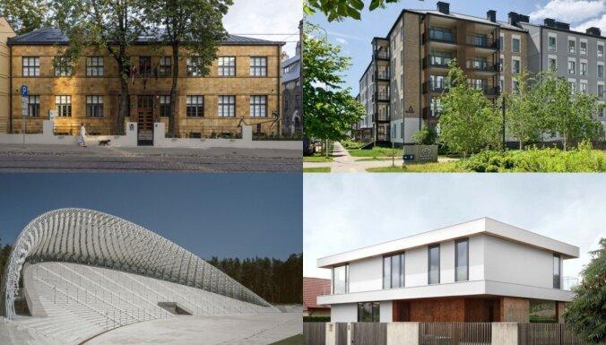 На главный приз в латвийской архитектуре 2021 года претендуют 11 объектов (+ФОТО)