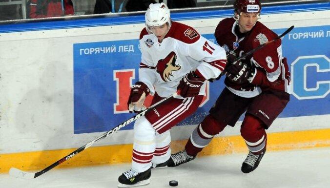 NHL par spēlēm ar KHL klubiem pieprasījuši pārāk daudz naudas