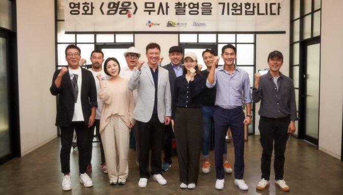 Rīgā sāk filmēt vēsturisku korejiešu mākslas filmu
